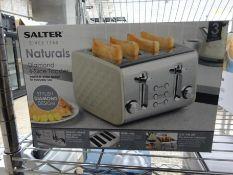 Salter 4 slice toaster