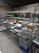 180cm 4 tier wire rack