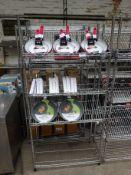 4 tier display racks