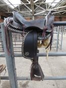 """Western saddle,approx. 16"""" - carries VAT"""