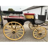 WAGONETTE built by C. Hazzote of Lubecourt to suit a single.  Lot 12 is located near Bognor Regis