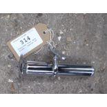Stainless steel whip holder - carries VAT.
