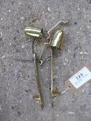 Brass shaft fittings - carries VAT