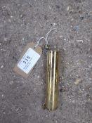 Brass whip holder - carries VAT