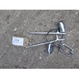 Set of stainless steel shaft fittings - carries VAT