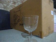Jamie Oliver wine glasses x 24.