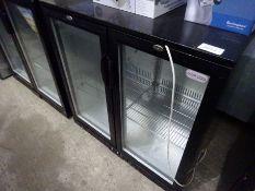 Cater-Cool CK8501LED under counter bottle fridge.