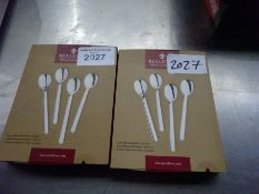 8 teaspoons, new