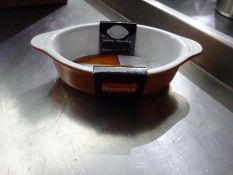 6 new Berndes gratin dishes, 20cms.