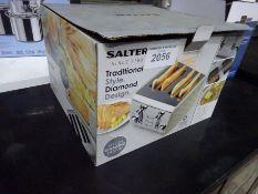 New Salter Diamond 4-slice toaster.