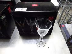 New Melodia 6 goblet glasses.