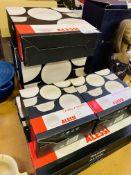 Quantity Alessi ceramic bowls.