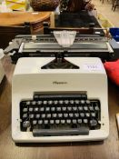 Olympia Typewriter, made in West Germany.