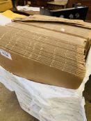 Pack of 100 PP5 kite packaging cardboard sleeves for books/magazines.