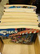 Box of 26 Giles Annuals.