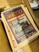 Quantity of Drag Car Racing magazines.