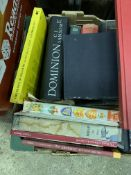 Quantity of various history books.