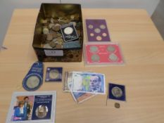Box of coins