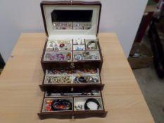 Musical box of jewellery