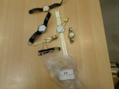 7 assorted wristwatches