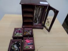 4 drawer chest of jewellery
