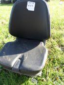 Forklift/tractor air suspension seat, NO VAT