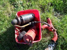Perkins engine oil pump and manifold, NO VAT