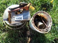 Linkage weld on balls and brackets, NO VAT