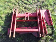 Front linkage bracket for MF tractor