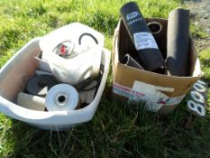 Various hoses and filters, rubbers for track rod ends, NO VAT