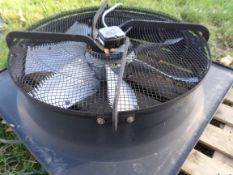 1m-r plate mounted extraction fan, NO VAT
