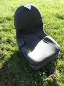 Tractor/forklift seat, NO VAT