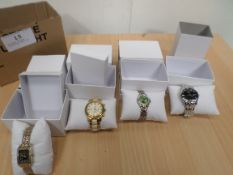 4 boxed watches including Limit etc