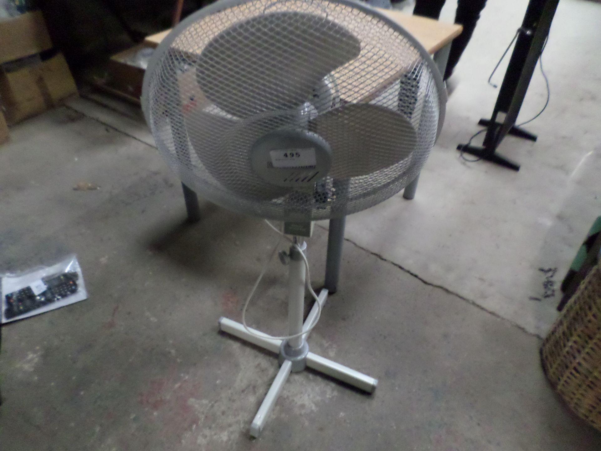 Lot 495 - Electric fan