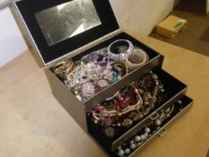 Drawer box of jewellery