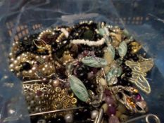 Bag of costume jewellery