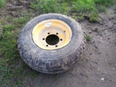 trailer wheel & tyre