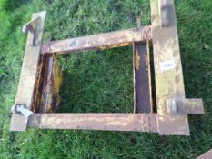 Adapter plate, JCB & Q-fit to Manitou