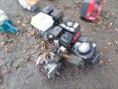 4 engines for spares or repair, 3 of them Honda NO VAT