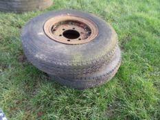 2 wheels & tyres