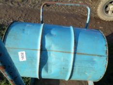 New and sealed 45 gallon drum of 30/40 oil