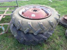 3 tractor wheels & tyres