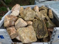 Pallet of building stone