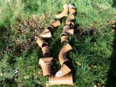 """Quantity of 4"""" mixed drainage fittings NO VAT"""