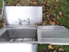 Stainless steel sinkn