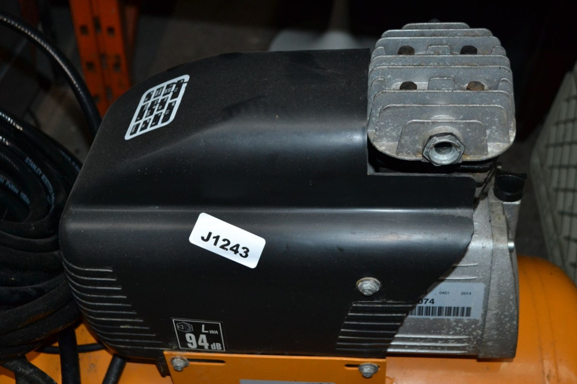 Lot 3072 - 1 x Bostitch C50-U Compressor - Ref: J1243 - CL011 - Location: Altrincham WA14