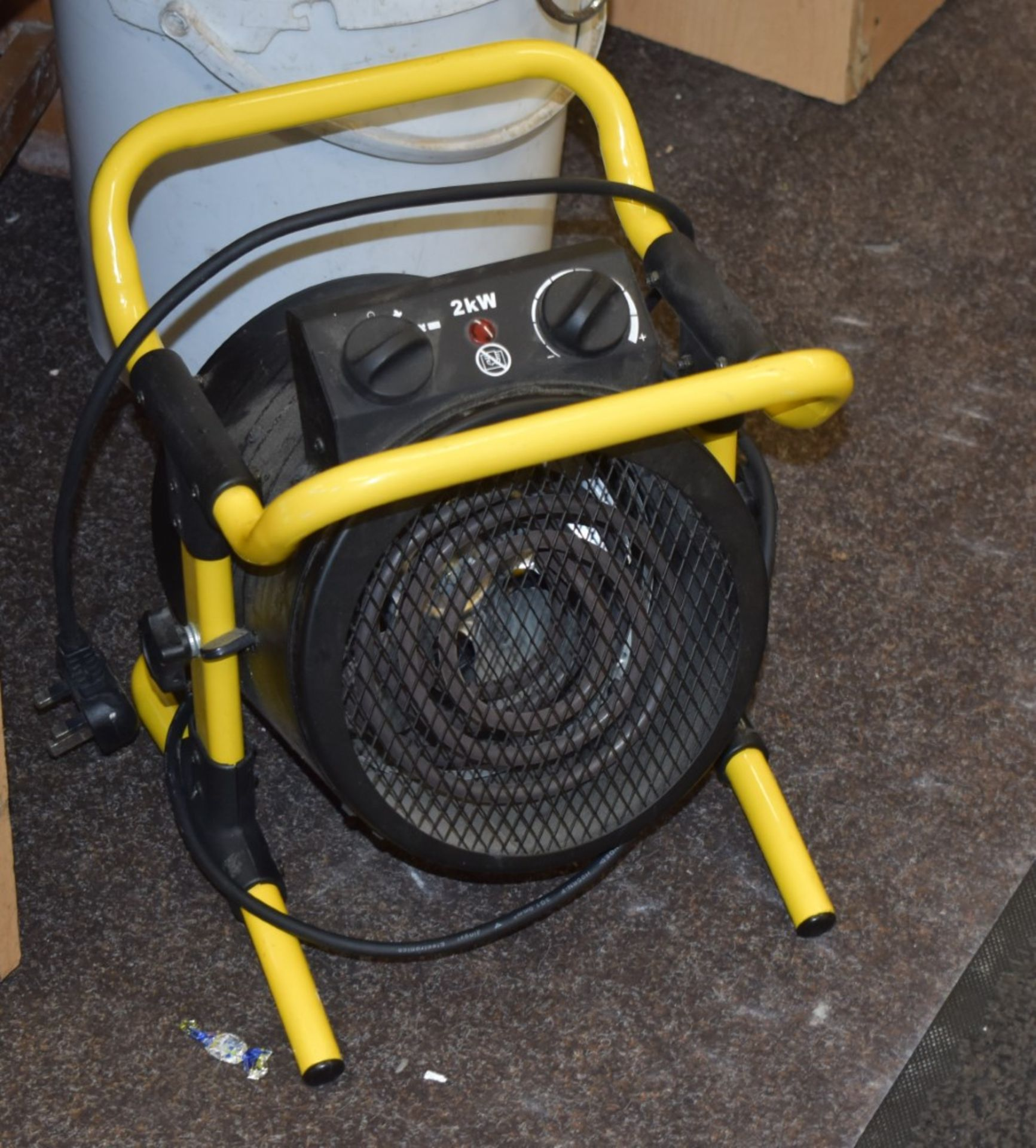 Lot 4292 - Assorted Collection of Items From Gym - Includes Upright Drinks Chiller, Multiple Wall Clocks,