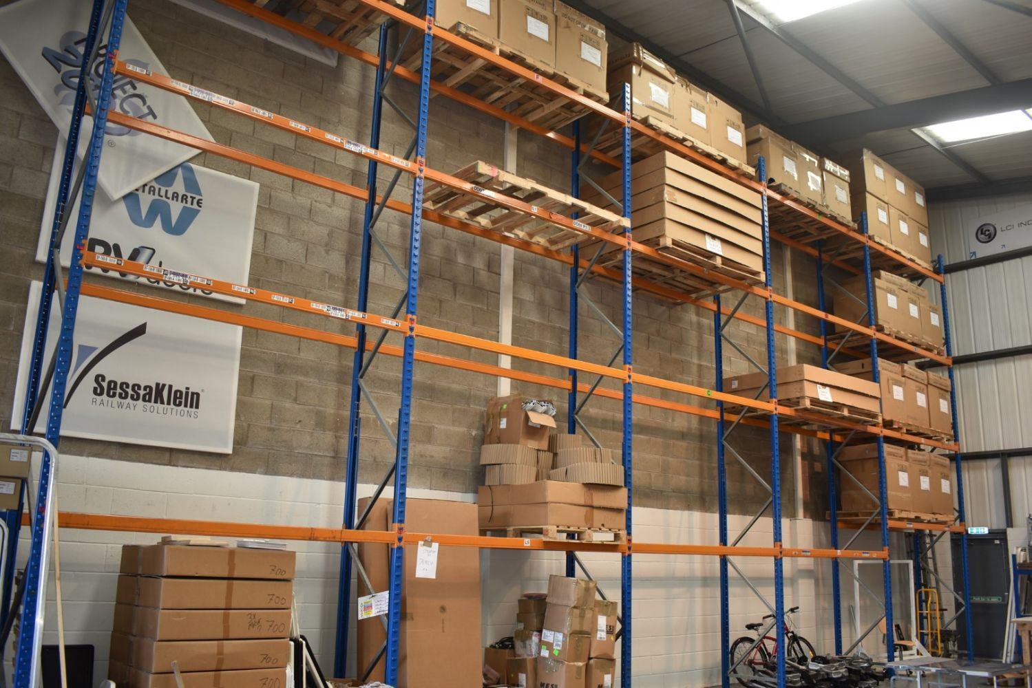 Today: Short Notice Sale in Wakefield - Warehouse Equipment, Catrering Equipment , Racking & More - Plus General Auction, Furniture, Lighting