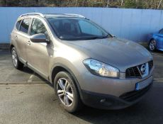 2010 Nissan Qashqai +2 1.5 dCi N-Tec 7 Seater 5dr MPV- CL505 - NO VAT ON THE HAMMER -