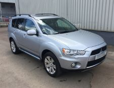 2013 Mitsubishi Outlander GX 4 2.2 D 5Dr 4x4 - CL505 - NO VAT ON THE HAMMER - Location: Corby,